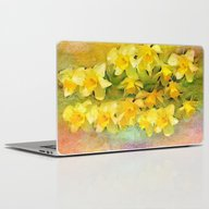 A Little Bit Of Spring -… Laptop & iPad Skin