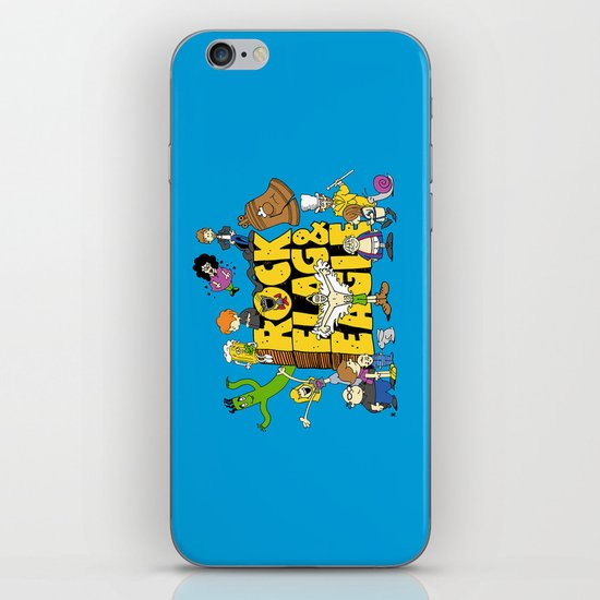 Rock, Flag & Eagle iPhone & iPod Skin