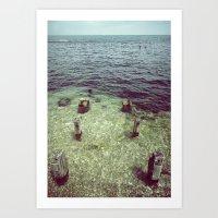 human algae Art Print