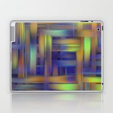 Multicolored wicker Laptop & iPad Skin