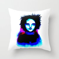 Graphite Throw Pillow