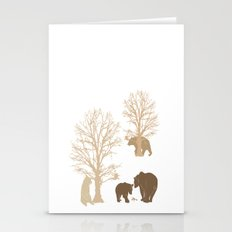 Morning Bears In The Woods No. 2 Stationery Cards