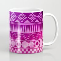 Tribal Fuschia.  Mug