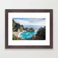McWay Falls Framed Art Print