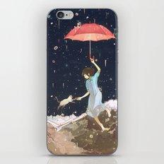 Rain returns Night iPhone & iPod Skin