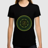 Ayoga Womens Fitted Tee Black SMALL