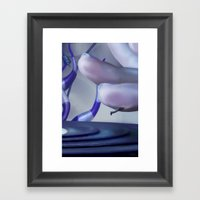 Record Player Framed Art Print