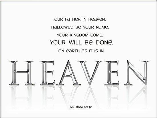 As it is in HEAVEN Art Print