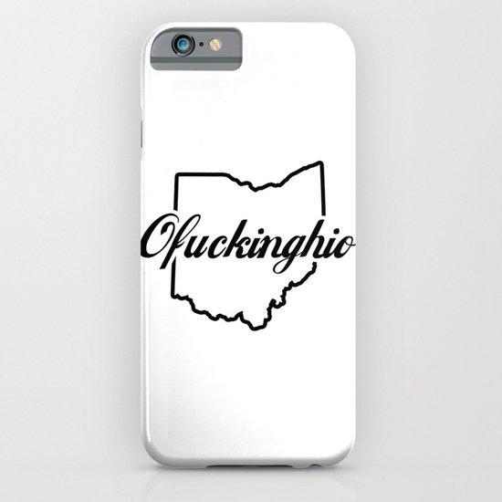 Ofuckinghio (plain) iPhone & iPod Case