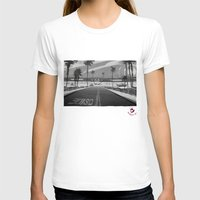 Oside Womens Fitted Tee White SMALL