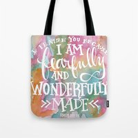 Fearfully And Wonderfull… Tote Bag
