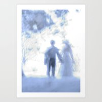 When You Fall In Love Art Print