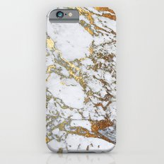 Gold Marble Slim Case iPhone 6s