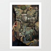 Dreamtime 3 Of 3 Art Print