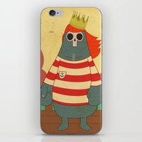 King of Pirates iPhone & iPod Skin