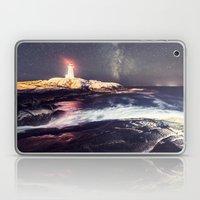 Lighthouse in the Summer Sky Laptop & iPad Skin