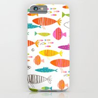 Rainbow Fish Print iPhone 6 Slim Case