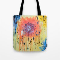 Bleeding poppy Tote Bag