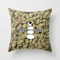 Play Oolong Throw Pillow