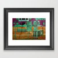 Turn On The Power Framed Art Print