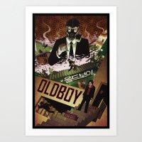 Oldboy [full Color] Art Print