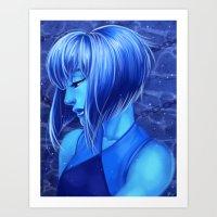 Lapis Art Print