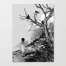 Welcome, Stranger! Canvas Print