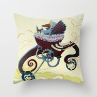 Wild Ride Throw Pillow