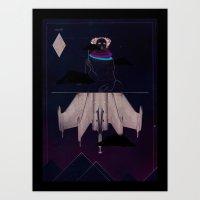 Stealth Art Print
