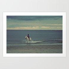 Nautica: Water Child Art Print