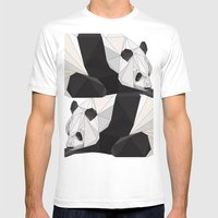 pa Mens Fitted Tee White SMALL