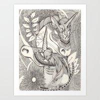 Inner Princess Art Print
