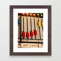 Sound Board I Framed Art Print