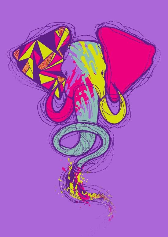 ART'lephant Art Print