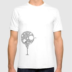 In my tree  Mens Fitted Tee SMALL White