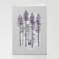 The trance of a deer Stationery Cards