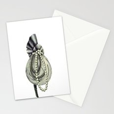 Pearly Lacyness Stationery Cards