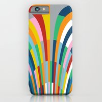 iPhone & iPod Case featuring Rainbow Bricks by Project M