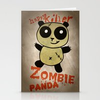 ZombiePanda Stationery Cards