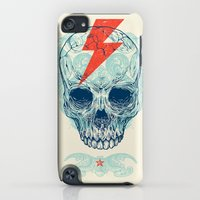 iPhone Cases featuring Skull Bolt by Rachel Caldwell