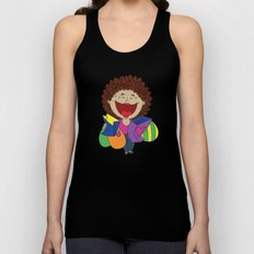 Inspired on my mom, when she just can't stop laughing!   Unisex Tank Top