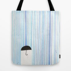 Mr. Invisible Doesn't Like Rain... Tote Bag
