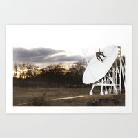 Bam Margera - Satellite Sunset Art Print