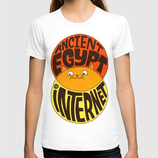 Ancient Egypt, The Internet, Cats T-shirt