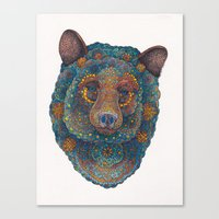 Constellation Bear Canvas Print