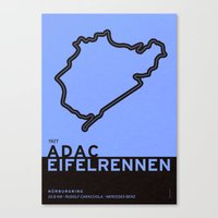 Legendary Races - 1927 Eifelrennen - Nürburgring Canvas Print