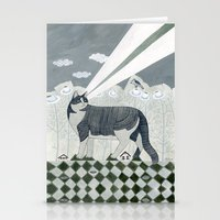 Beaming Cat Stationery Cards