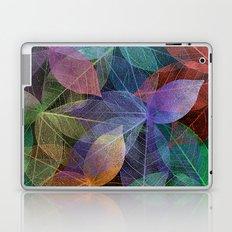 Colored Leaf Pattern 2 Laptop & iPad Skin