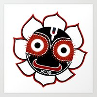Jagannath Art Print