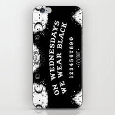 ☽ ON WEDNESDAYS WE WEAR BLACK ☾ iPhone & iPod Skin